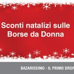 Sconti natalizi sulle Borse da Donna