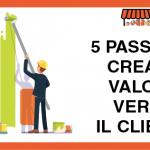 5 Passi per Creare Valore verso il Cliente