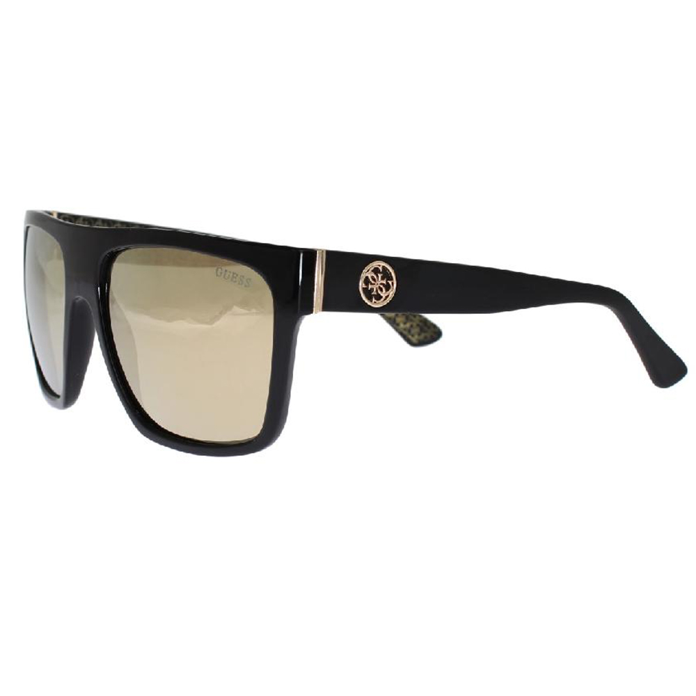 GUESS Black Plastic Frame UV Lens Sunglasses